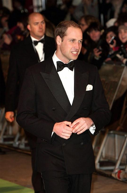 William se musel akce zúčastnit bez Kate, kterou trápí těhotenské nevolnosti.