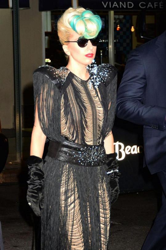 Dosud poslední z ulítlých modelů Lady Gaga.