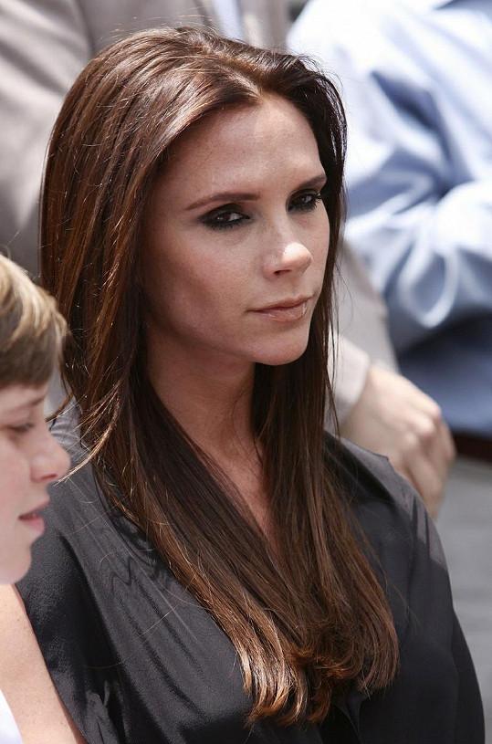 Bývalá členka Spice girls Victoria Beckham.