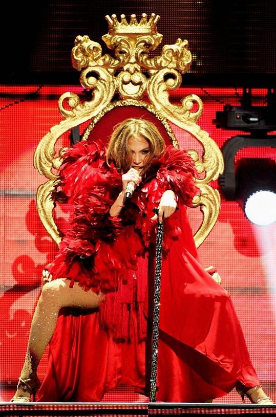 Lopez jako opravdová královna.