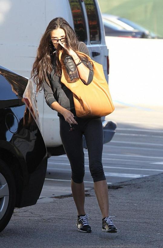 Demi se v poslední době schovává před pozorností médií.