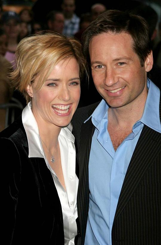 David Duchovny a Tea Leoni byli šťastný manželský pár.