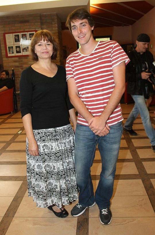 Ivana chtěla pózovat s nejstarším synem Karla Heřmánka.