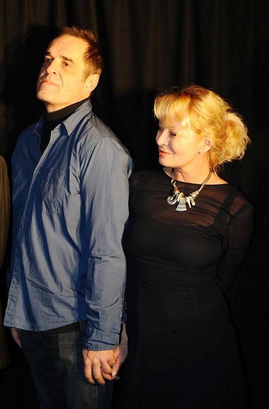 Miroslav Etzler a Vilma Cibulková jsou zase šťastní.