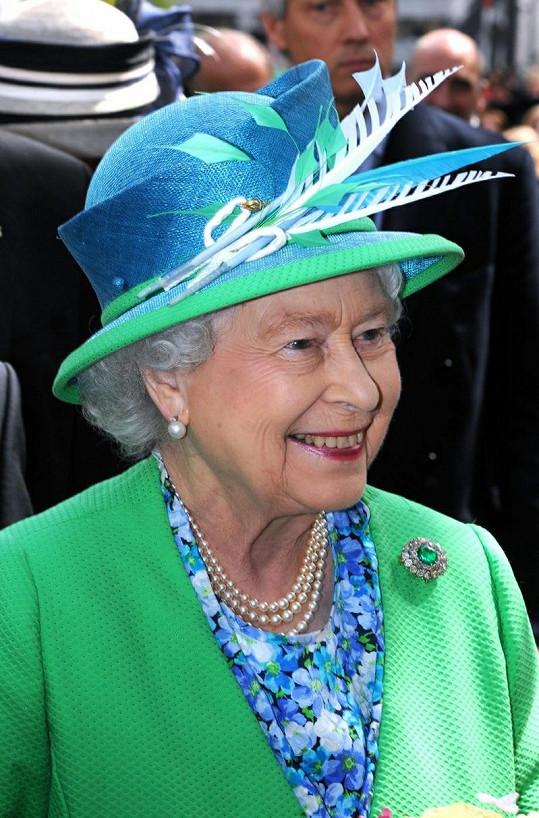 Na závěr návštěvy si královna schovala to nejlepší a nejbarevnější.