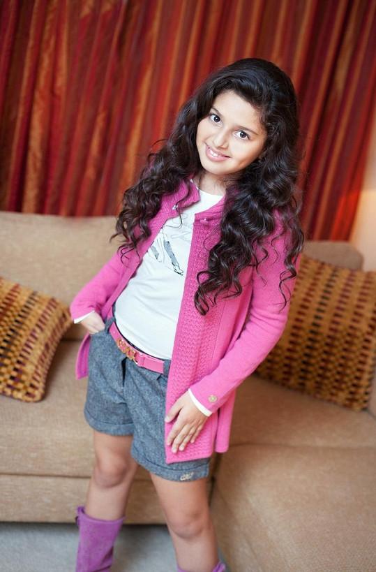 Dianka Kalashová se ráda hezky obléká.