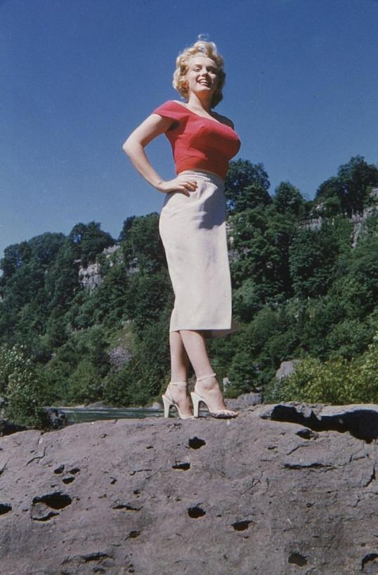 Okouzlující Marilyn ve 27 letech.