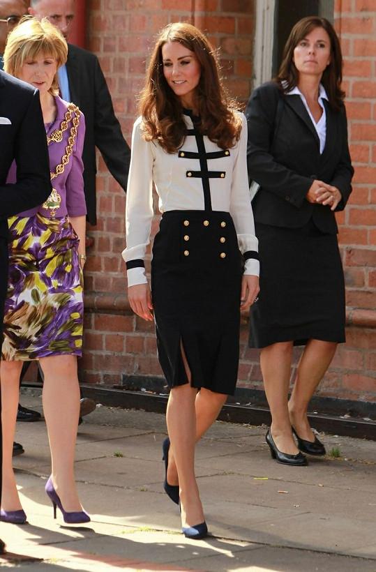 Drobná Kate se stala ikonou pro osoby trpící anorexií.