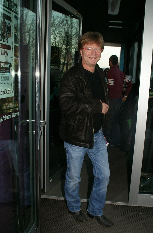 Dorazil také Maroš Kramár, kterého v Praze čekalo představení.