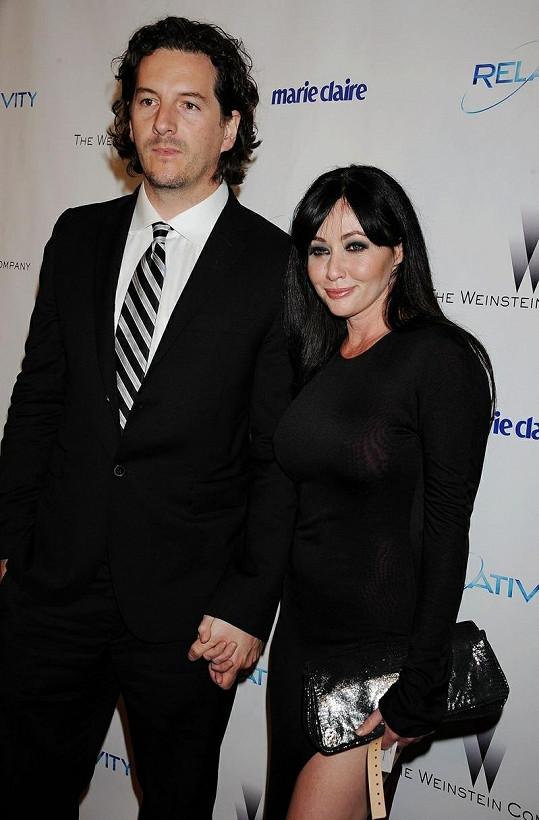 Shannen a její snoubenec Kurt Iswarienko.