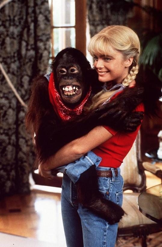 Erika ve filmu Burani z Beverly Hills.