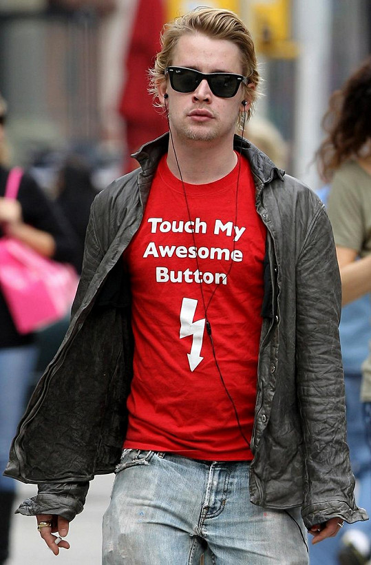 Macaulay Culkin, se kterým Mila osm let chodila.