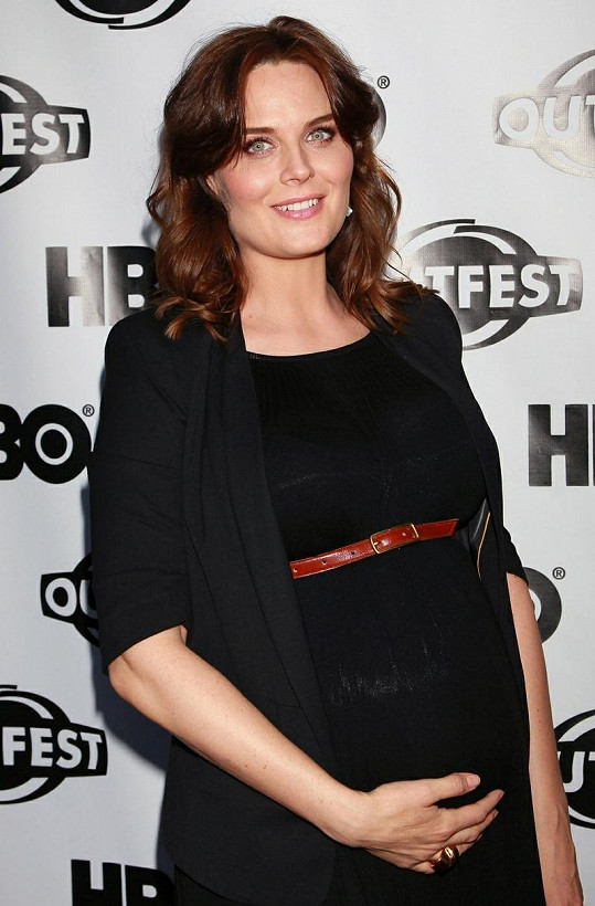 Emily Deschanel porodila syna.