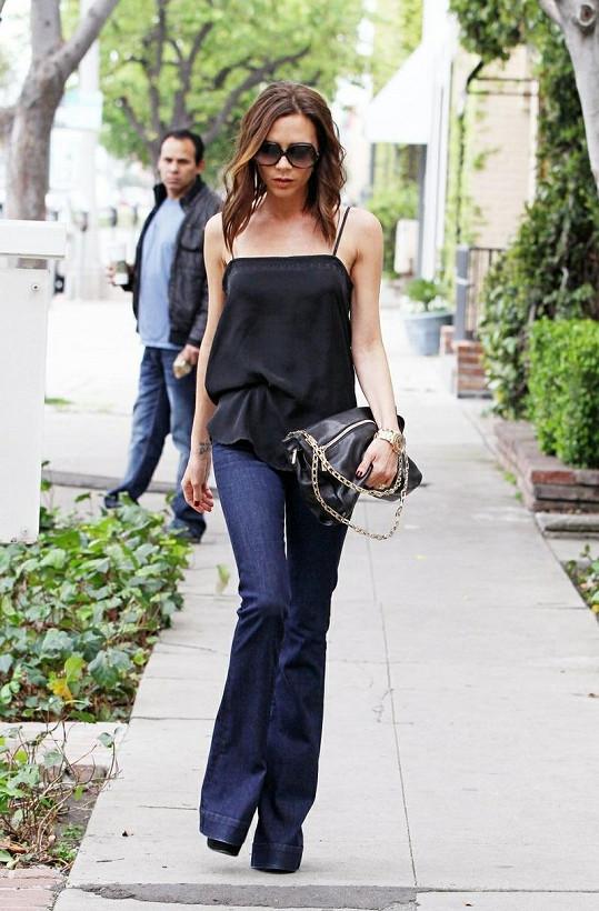 Victoria Beckham a její nová image.