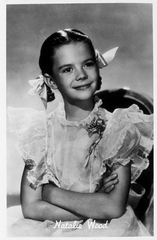 Natalie Wood se před kamerou prosadila už jako malá holčička.