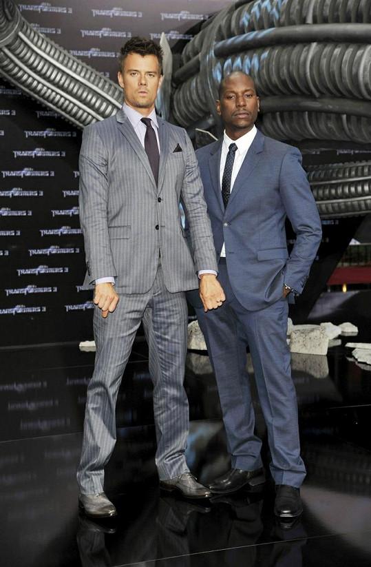Josh Duhamel a Tyrese Gibson.