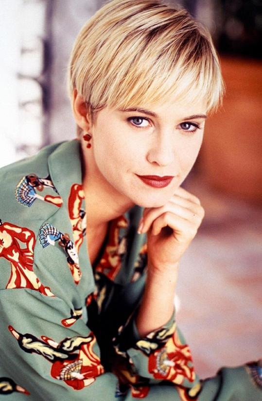Josie Bissett si v seriálu Merlose Place zahrála sympatickou Jane Mancini.