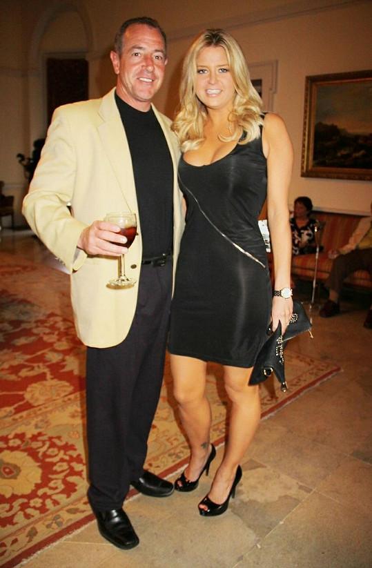 Michael Lohan a Kate Major už tak hezké vztahy nemají.