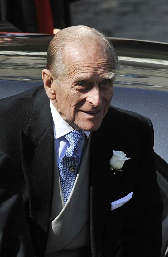 Na svatbě nechyběl ani princ Philip.