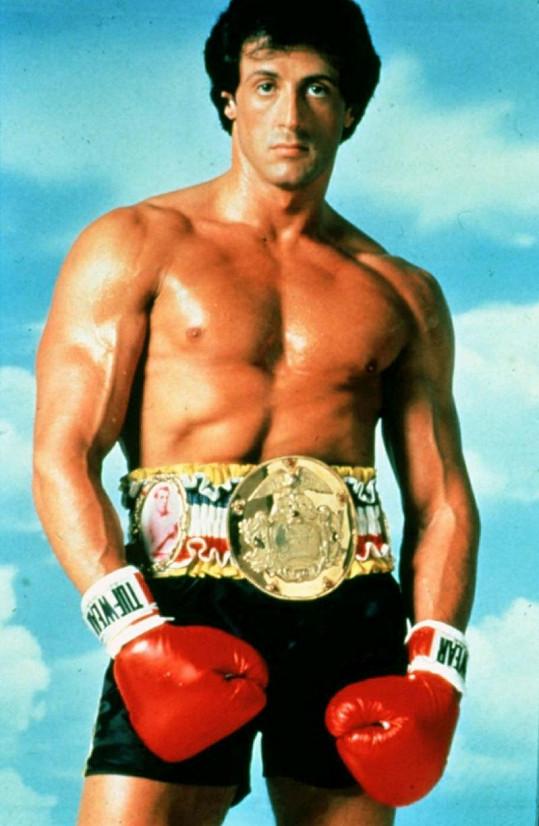 Stallone ve své nejslavnější roli Rockyho Balboa.