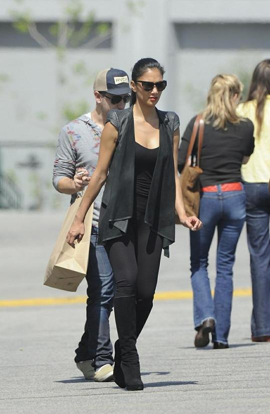Nicole měla v Los Angeles pracovní schůzku.