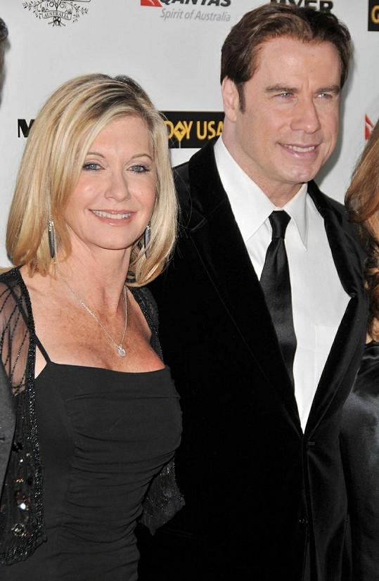 Olivia s Johnem Travoltou v Hollywoodu.