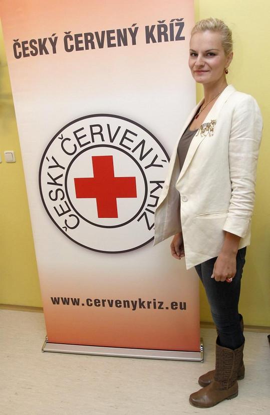 Ive Pazderková byla zklamaná, že nemůže pomoct potřebným vlastní krví.