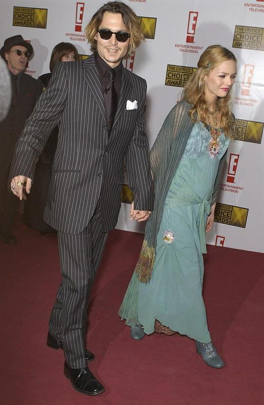 Vztah Vanessy a Johnnyho trval čtrnáct let.