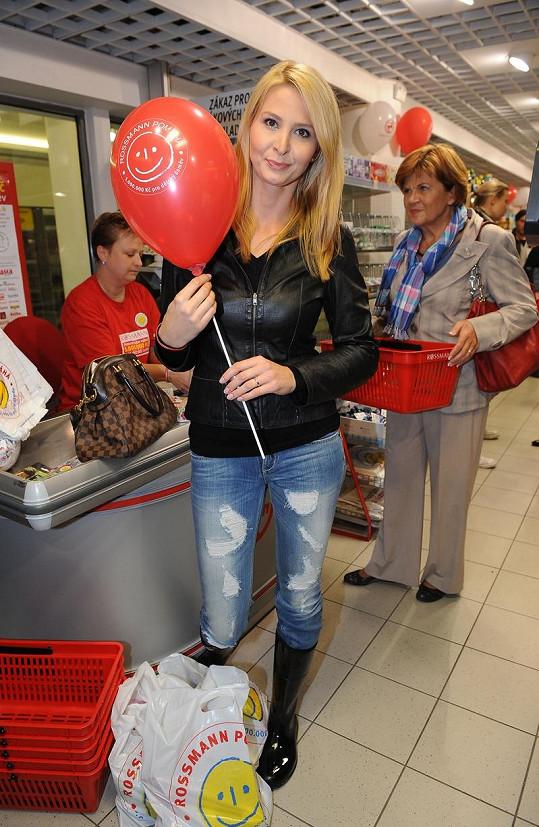 Ivana Gottová na charitativní akci.