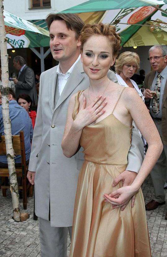 Tereza Vágnerová s přítelem Filipem Janečkem.