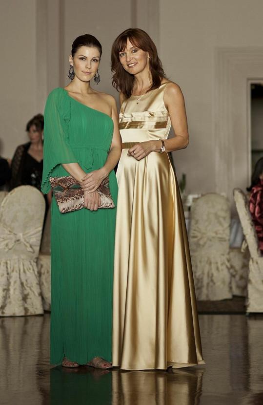 Smejkalová a Rajská na galavečeru The Golden Age Gala.