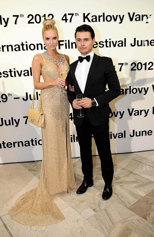 Nena s parterem Michaelem na loňském ročníku festivalu.