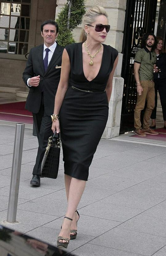 Sharon Stone je stále sexy.