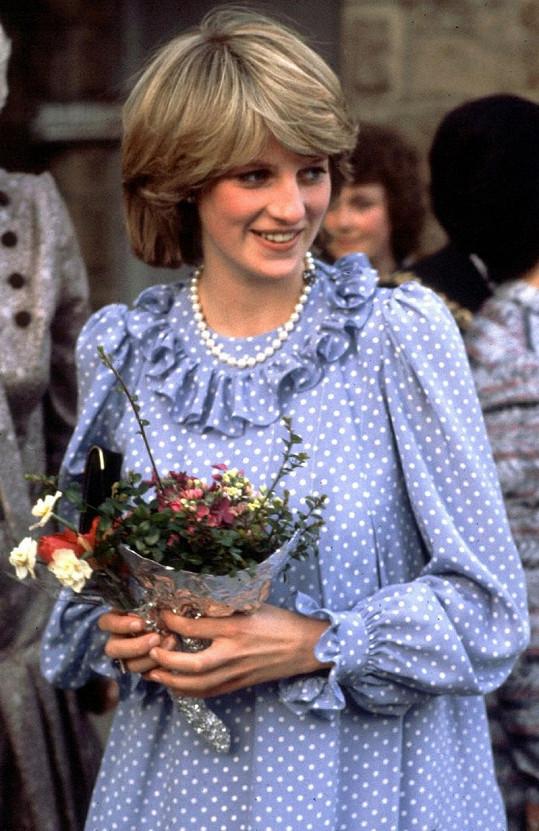 Sympatická Diana si dokázala podmanit své okolí.
