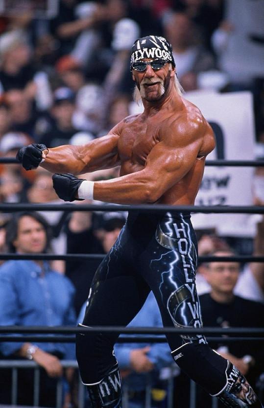 Hulk Hogan jako král wrestlingu.