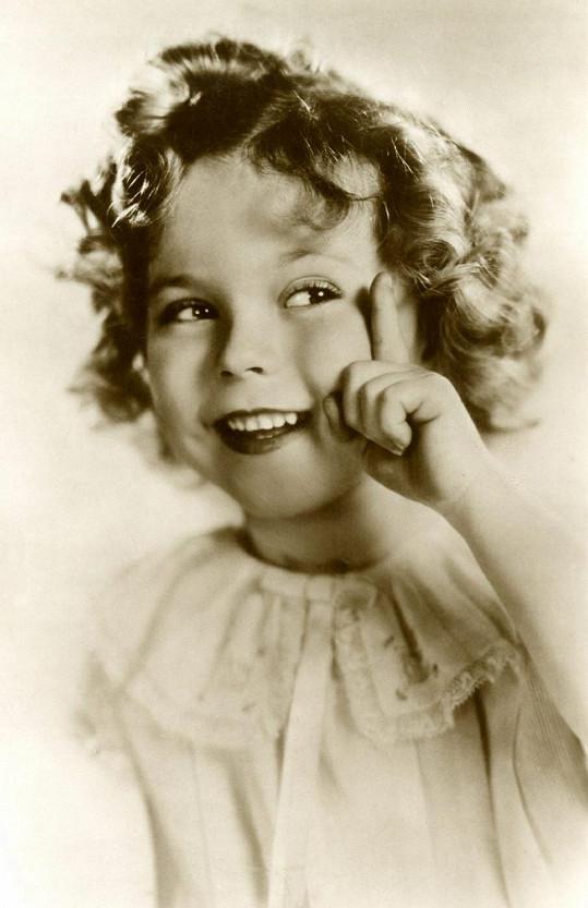 Shirley Temple v době své největší slávy.