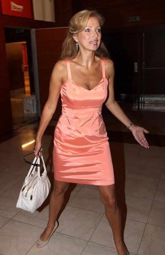 Kateřina Brožová patřila na představení podzimního programu TV Prima k největším kráskám.
