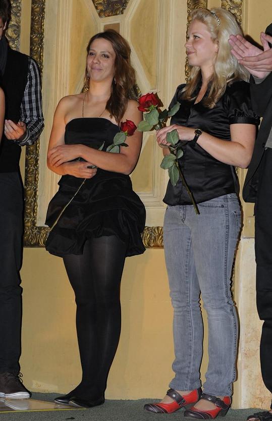 Aneta dorazila na premiéru dokumentu Olgy Špátové.