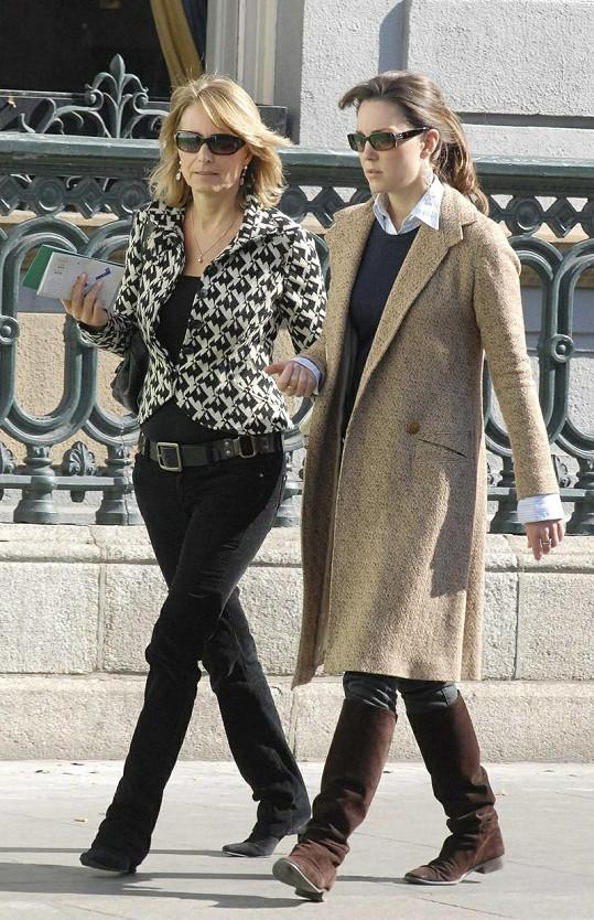 Carole Middleton s dcerou Kate před třemi lety.