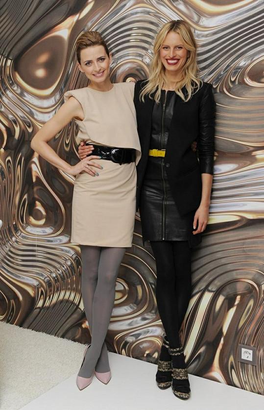 Karolína s Evou jsou hlavními hvězdami celé show.