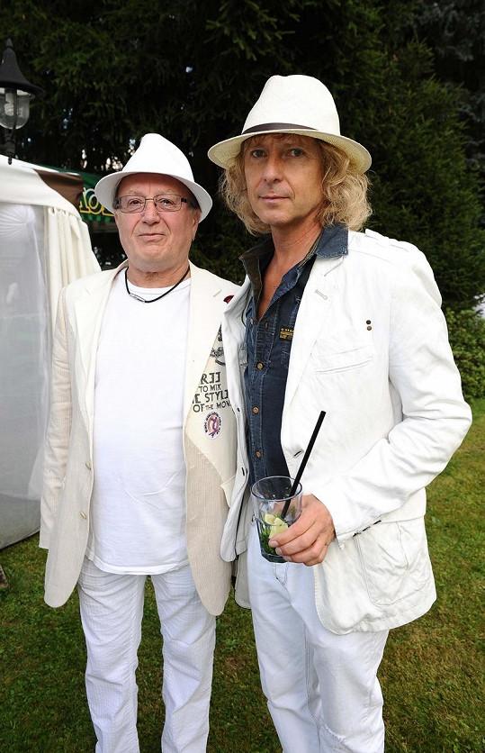 Petr Janda a Peter Nagy.