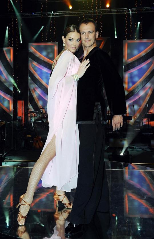 Pavlína a Jan tancovali rumbu.