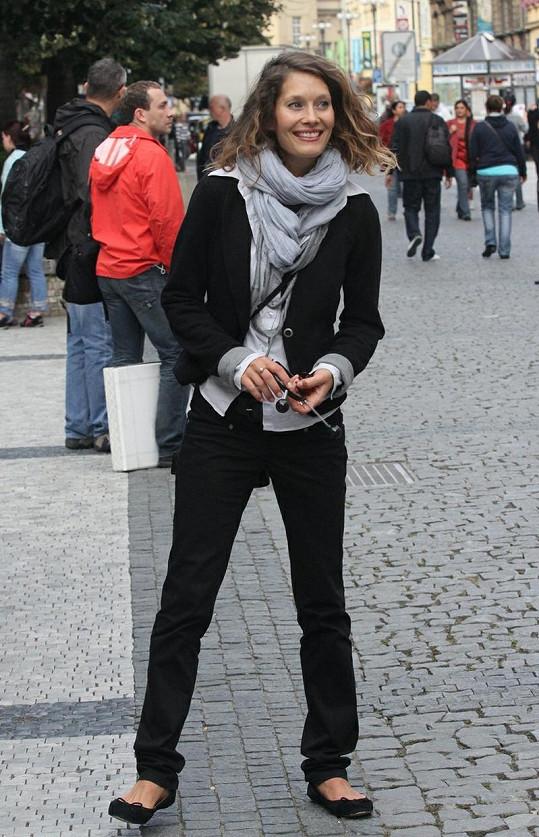 Barbora Seidlová je úchvatná.