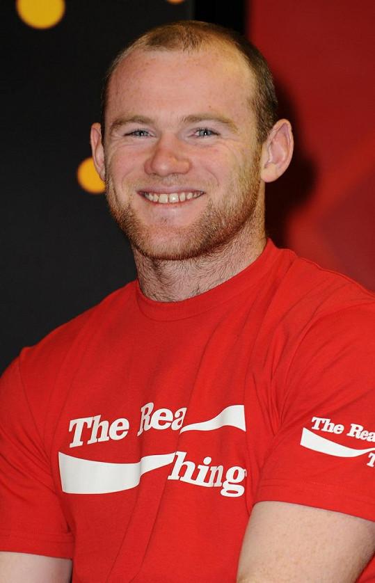Wayne Rooney měl na svůj věk veliké kouty.