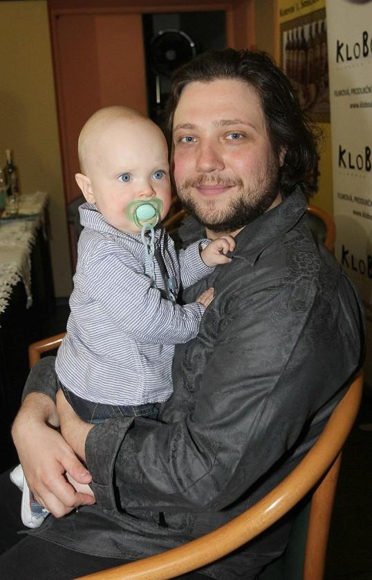 Malému Antonínovi Felixovi už jsou nyní tři roky.
