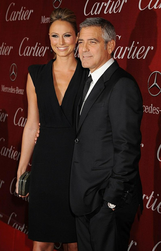 George a Stacy na filmovém festivalu v Palm Springs.