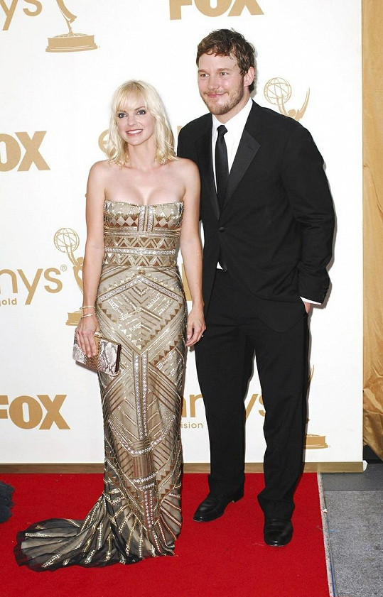 Anna Faris a její manžel Chris Pratt mají chlapečka.