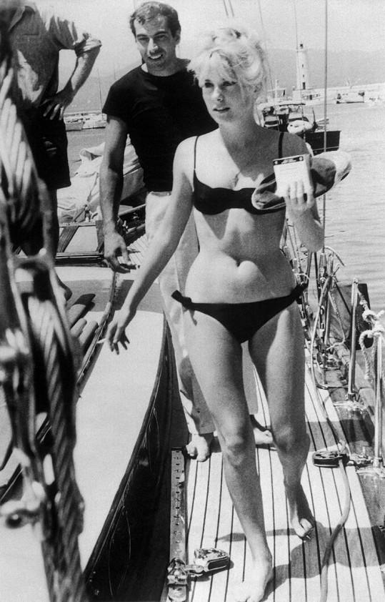 V 60. letech byla Catherine filmovým sexsymbolem.
