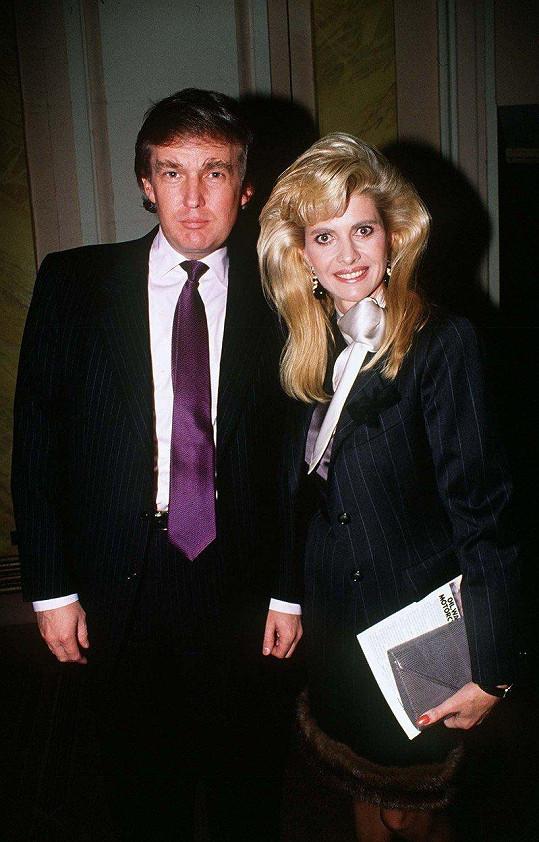 Ivana v době, kdy byla manželkou Donalda Trumpa