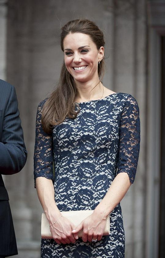 Vévodkyně Kate byla jako vždy okouzlující.